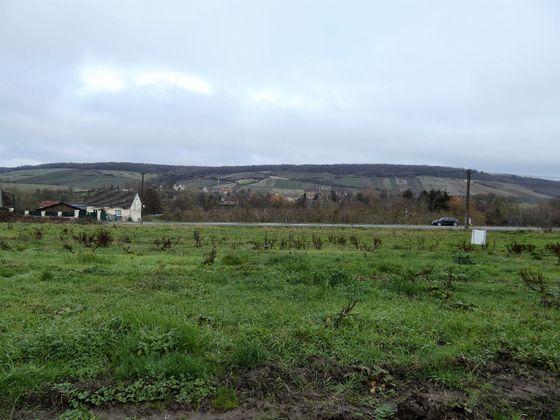 Vente terrain 636 m2