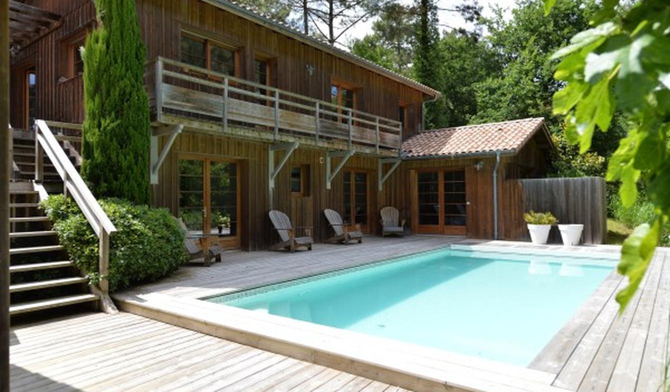 Maison avec piscine et terrasse Biscarrosse
