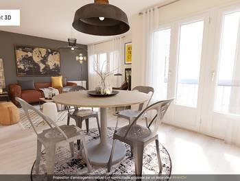 Appartement 2 pièces 59,81 m2
