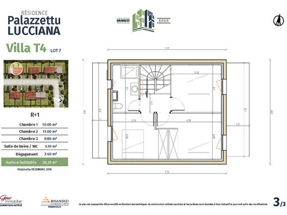 Vente maison 4 pièces 78,6 m2