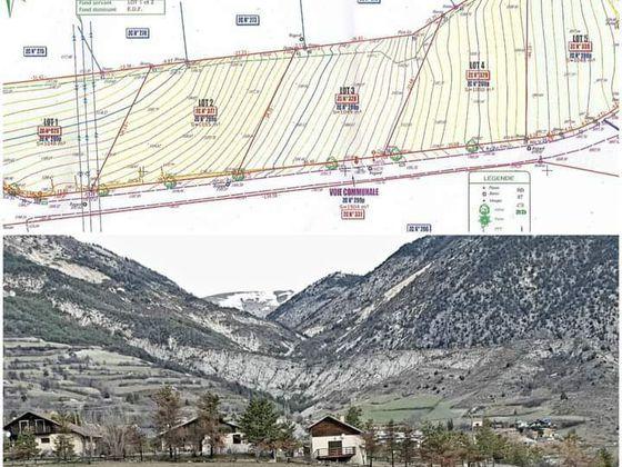 Vente terrain 1055 m2