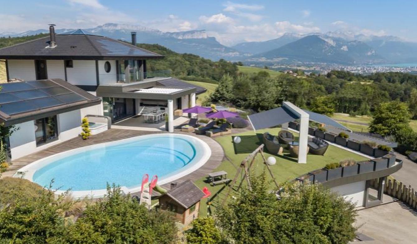 Maison avec piscine et terrasse Epagny