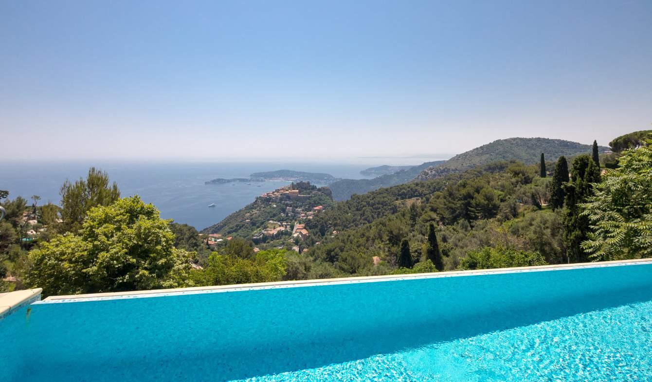 Villa avec piscine Eze