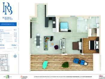 Appartement 4 pièces 94,8 m2