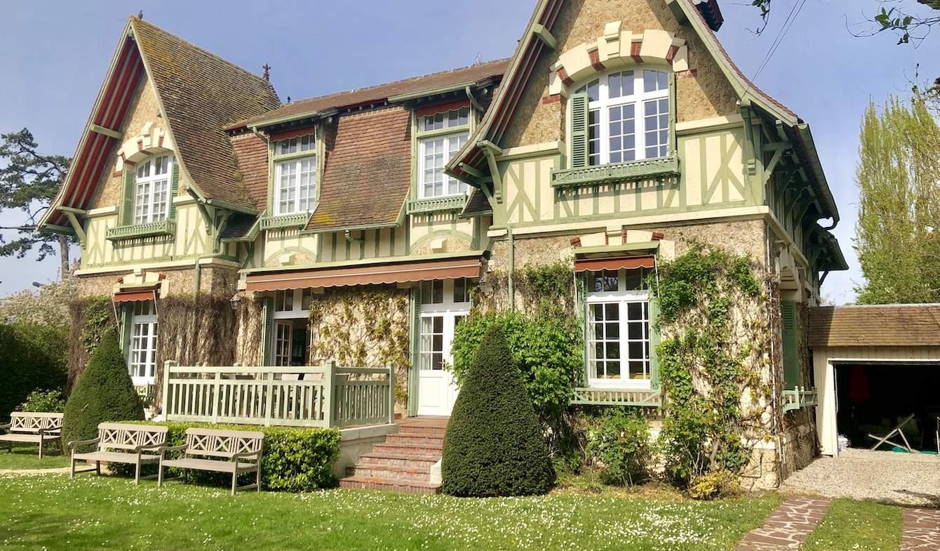 Villa en bord de mer avec jardin Deauville