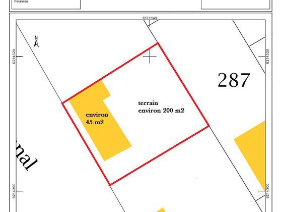 Vente terrain 45 m2