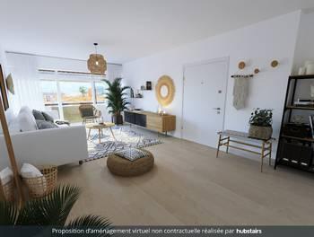 Appartement 2 pièces 61,54 m2