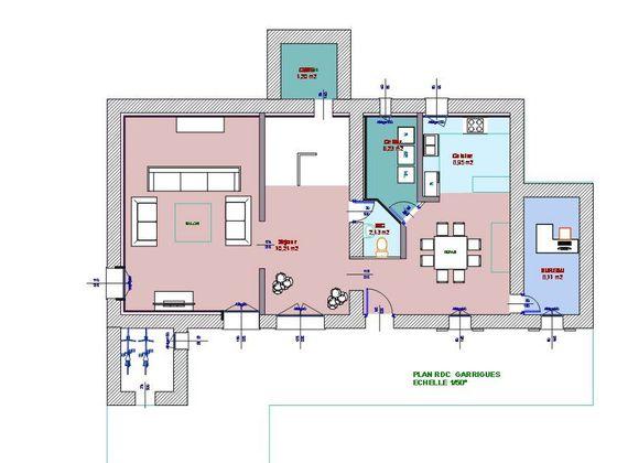 Location maison 7 pièces 200 m2