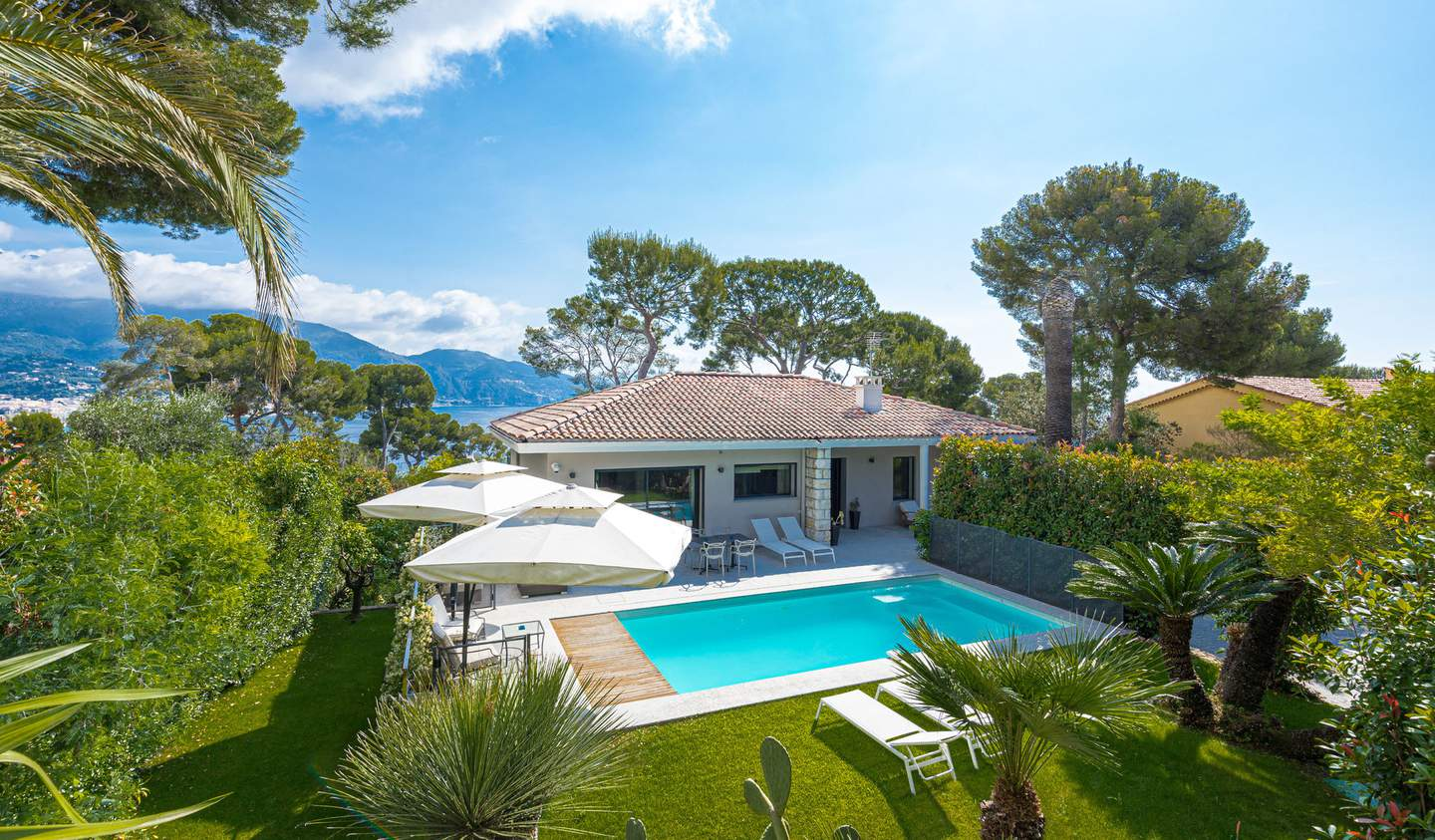 Villa with pool Roquebrune-Cap-Martin
