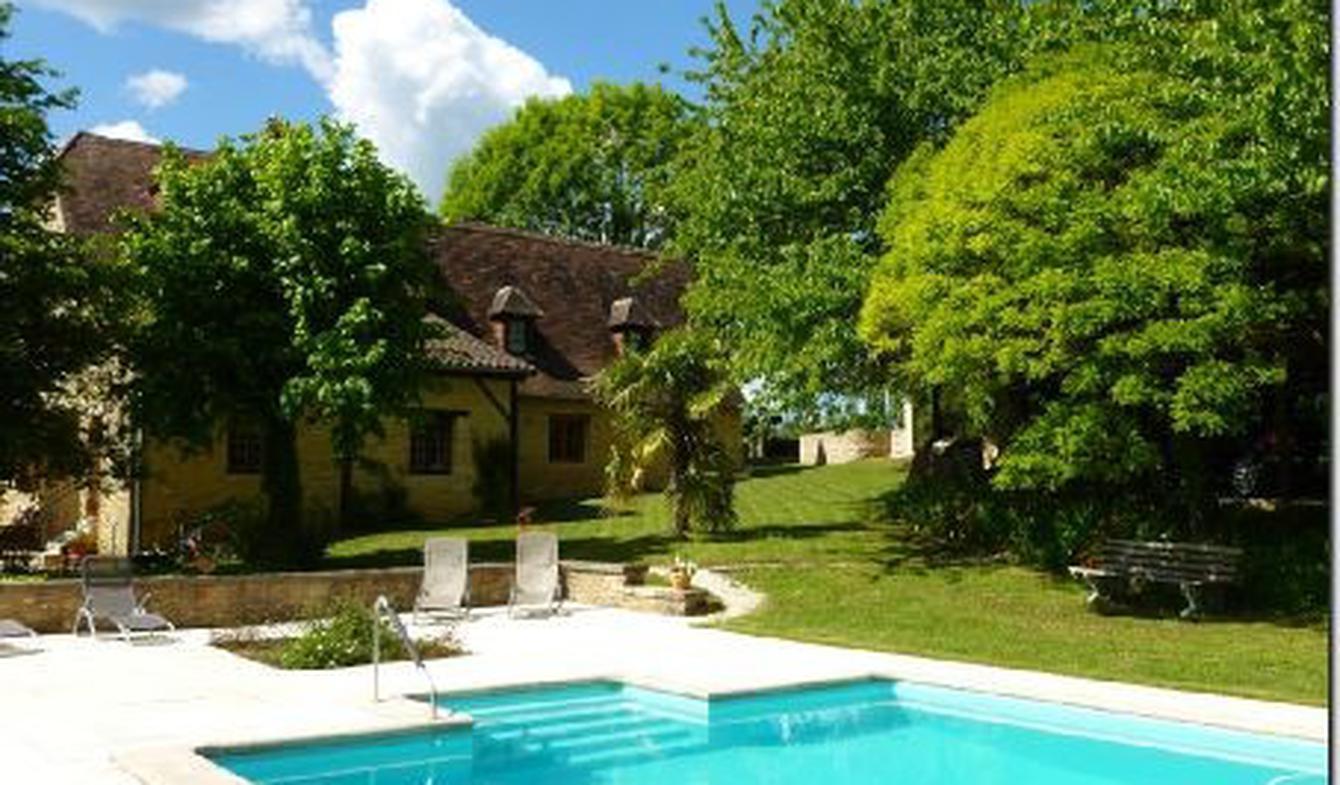 Maison avec piscine Valojoulx