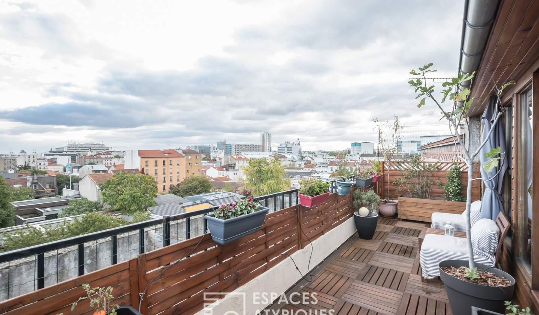 Appartement avec terrasse Bagnolet