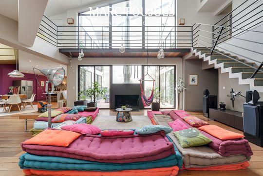 Loft with terrace