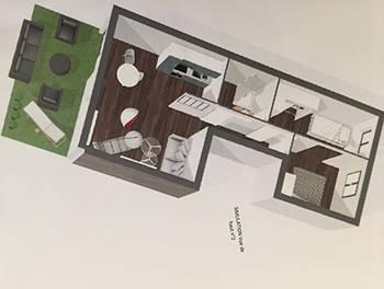 Appartement 3 pièces 55,03 m2