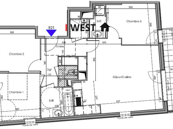 Vente appartement 4 pièces 80,51 m2