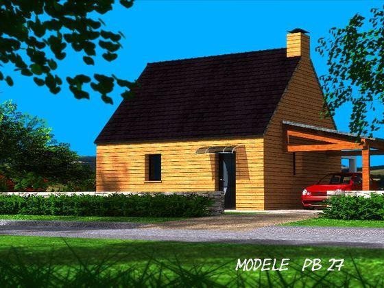 Vente maison 3 pièces 44,28 m2