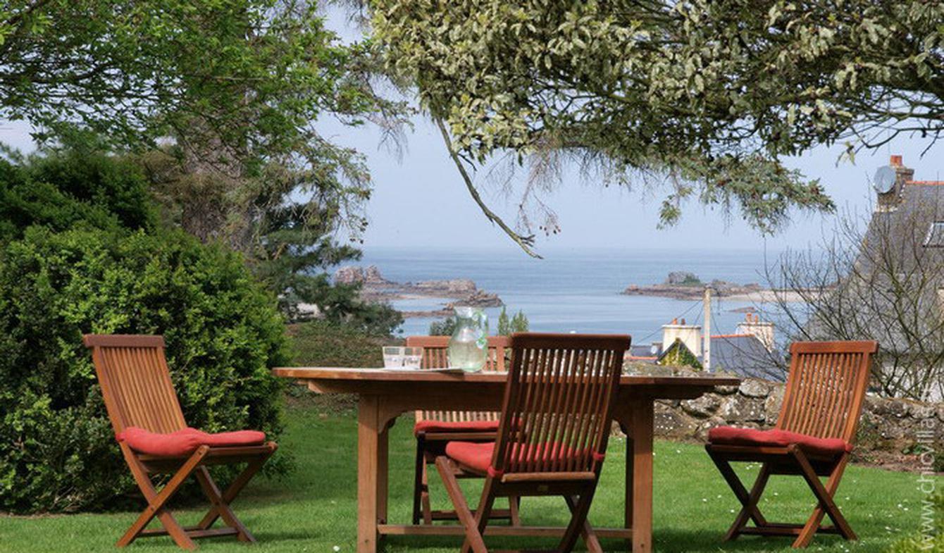 Villa en bord de mer avec jardin Côtes-d'Armor