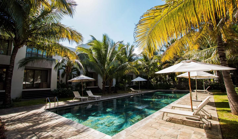 Appartement avec terrasse et piscine Pereybere