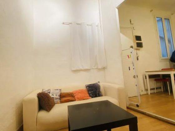 Location studio meublé 20,74 m2