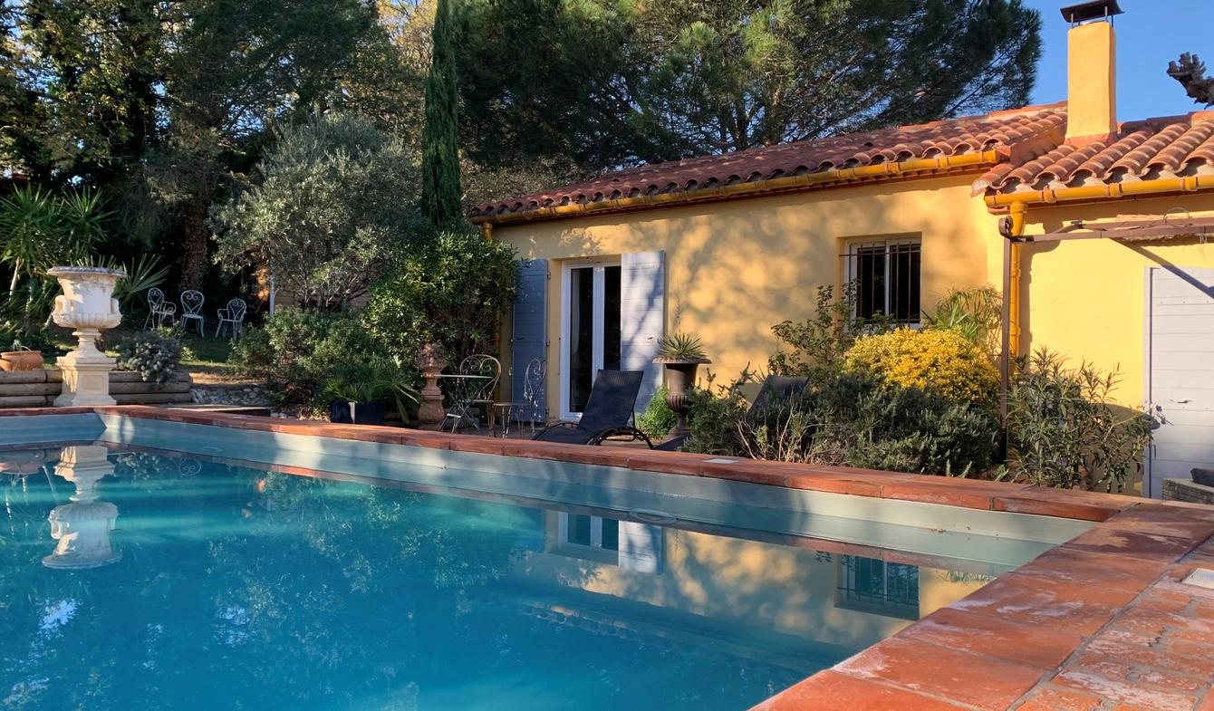Villa avec piscine et jardin Canohès