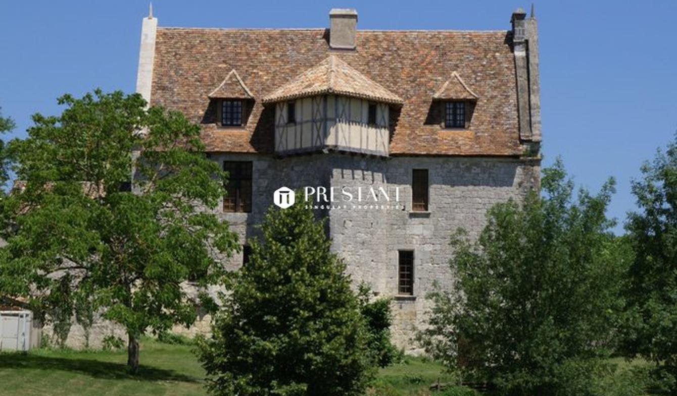 House with pool and terrace Bergerac