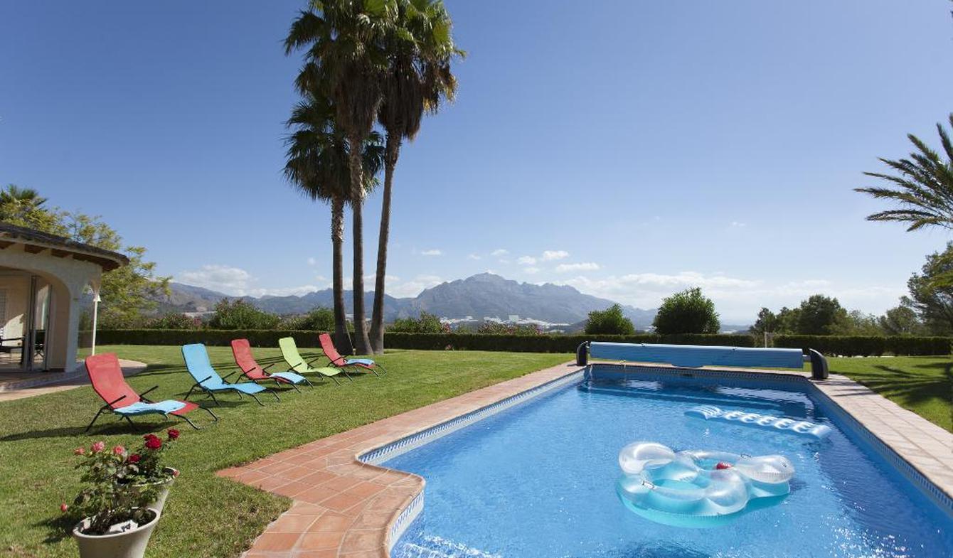 Villa avec piscine et jardin La Nucia