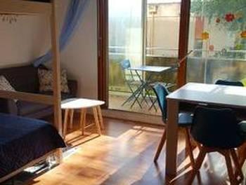 Studio meublé 33 m2