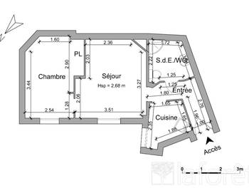 Appartement 2 pièces 37,33 m2