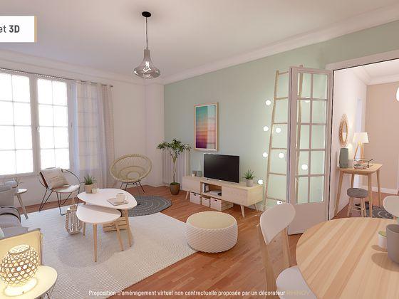 amenagement appartement 53 m2