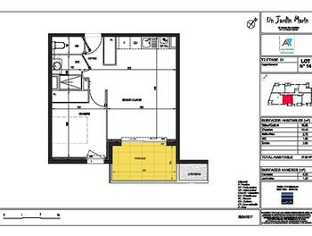 Appartement 2 pièces 37,9 m2