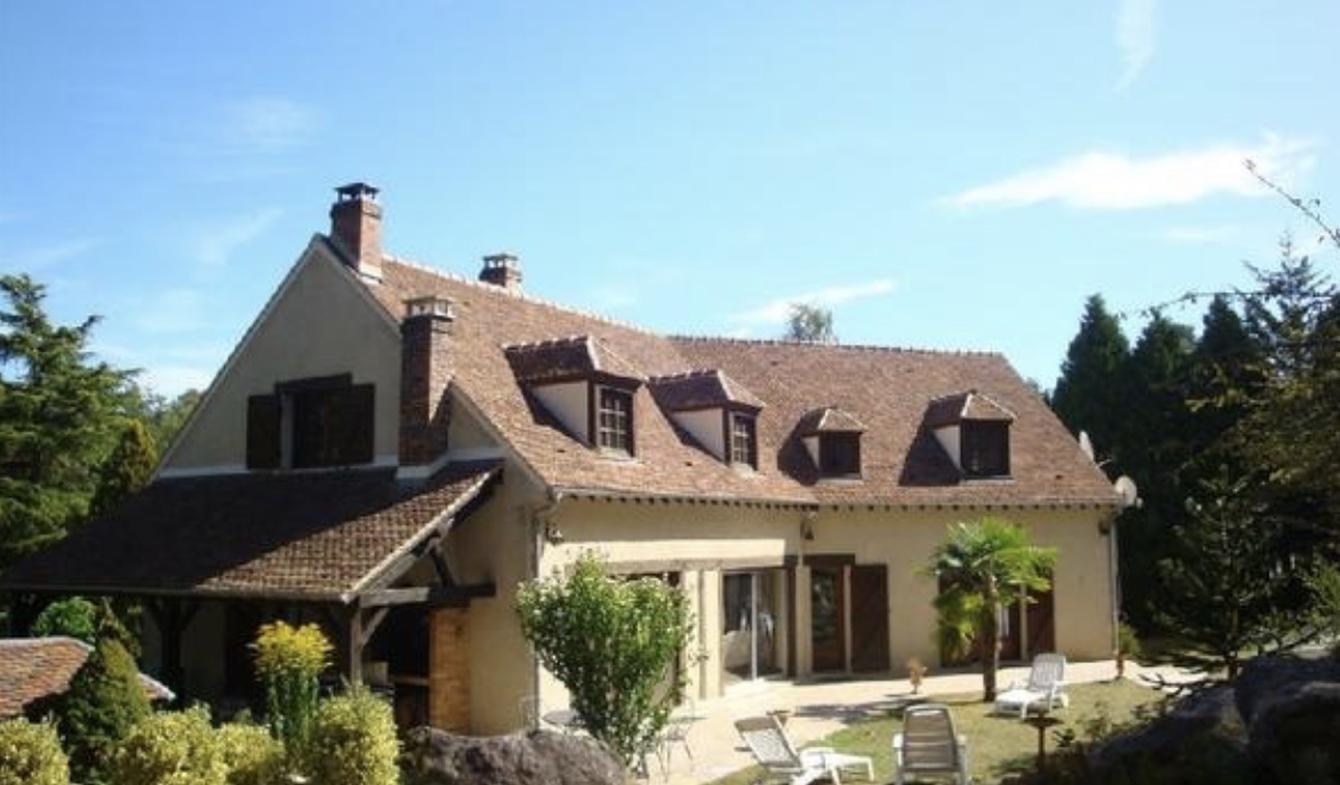 Maison avec piscine et jardin Barbizon