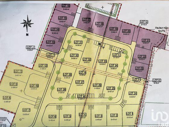 Vente terrain 561 m2