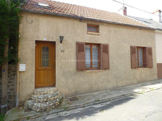 Vente maison 3 pièces 62,3 m2