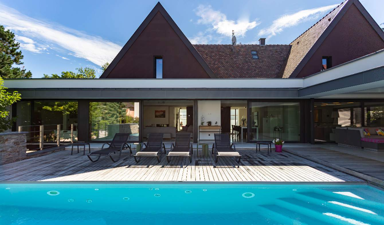 Propriété avec piscine Strasbourg