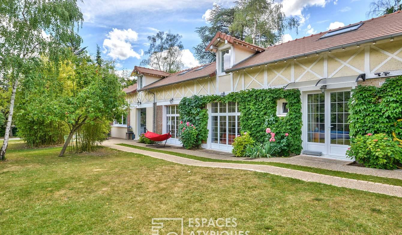 Maison avec piscine et terrasse Andresy