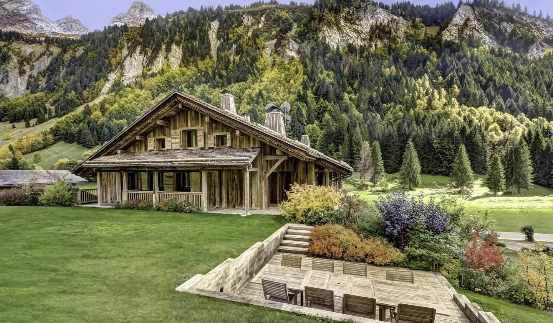 Appartement avec terrasse et piscine Le Grand-Bornand