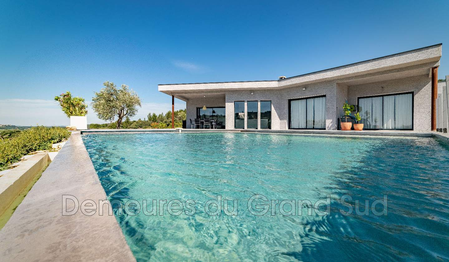 House with pool and terrace Avignon