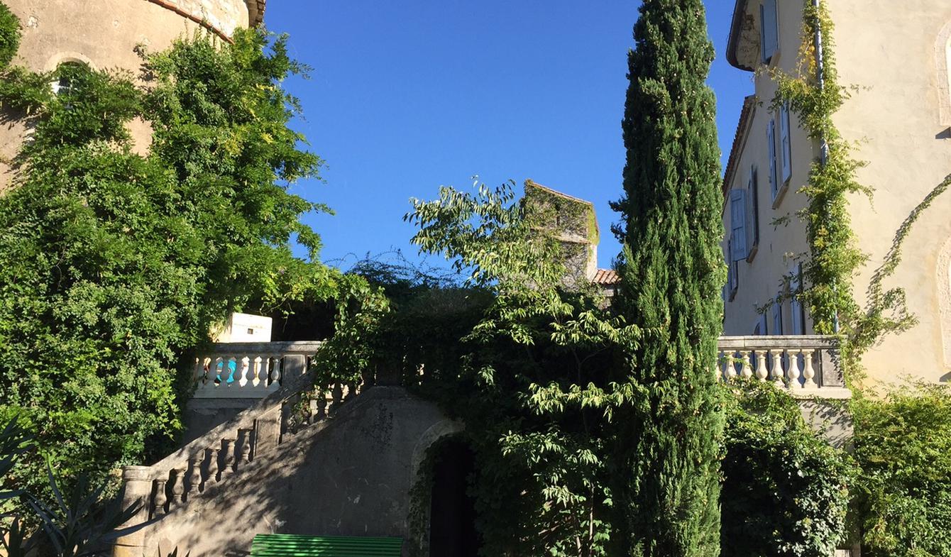 Château avec personnel & services Anduze