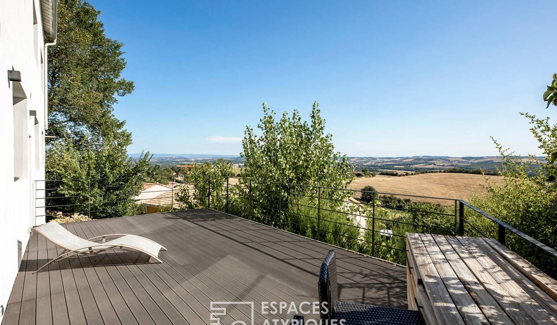 House with terrace Lavaur