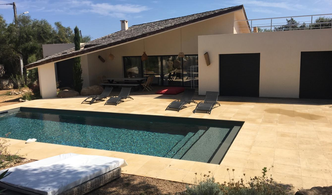Villa with pool and garden Sainte lucie de porto vecchio