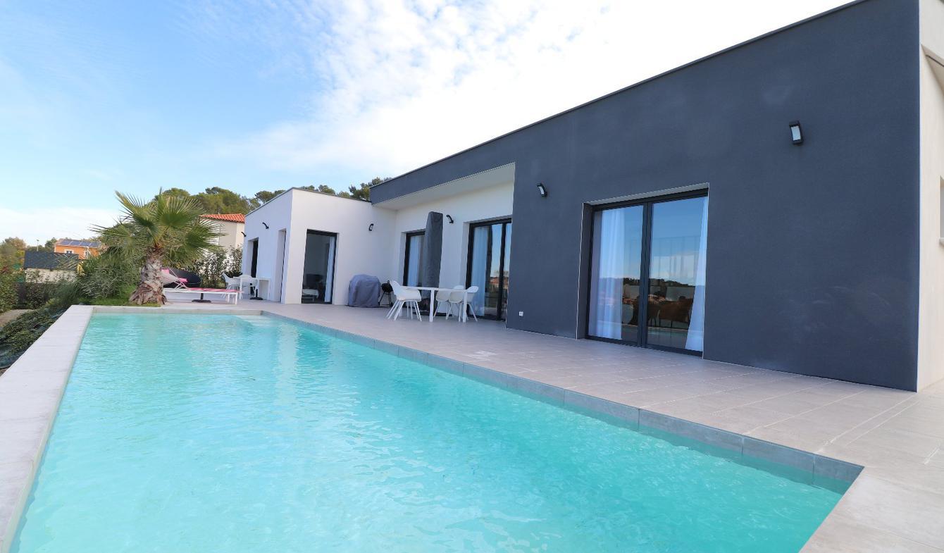 Maison avec piscine et terrasse Caveirac