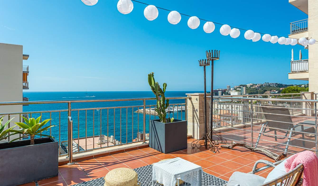 Appartement avec terrasse et piscine Palma