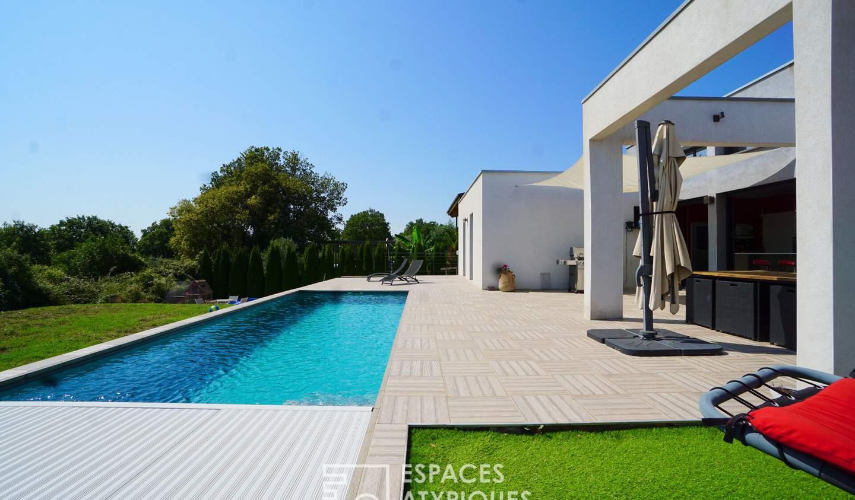 Maison avec piscine Saint-Geniès-de-Malgoirès