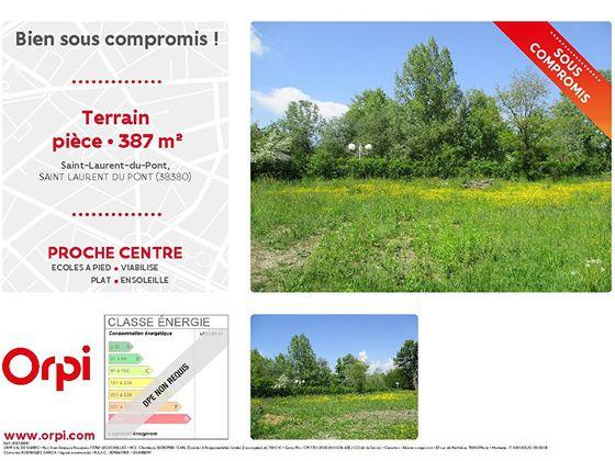 Vente terrain 387 m2