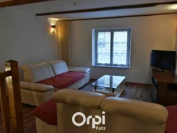 Appartement meublé 3 pièces 84,78 m2