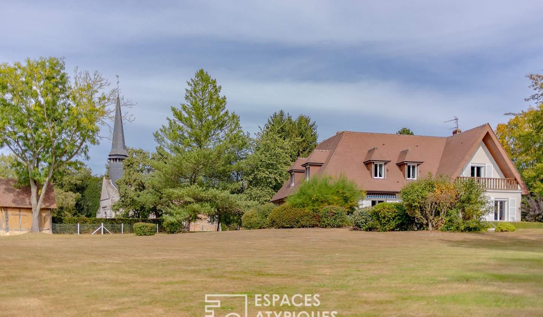 Maison avec piscine et terrasse Le Troncq