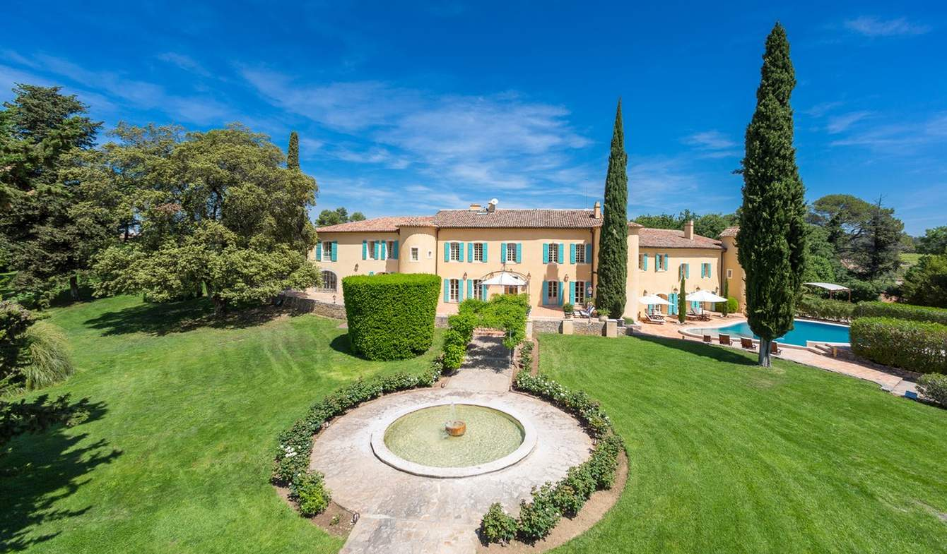 Villa with pool and garden Lorgues