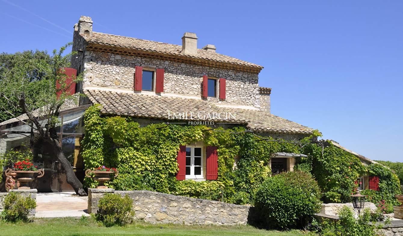 Property with pool Eygalières