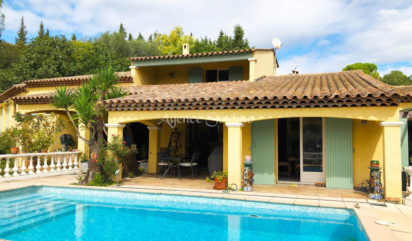 House with pool and terrace Grasse