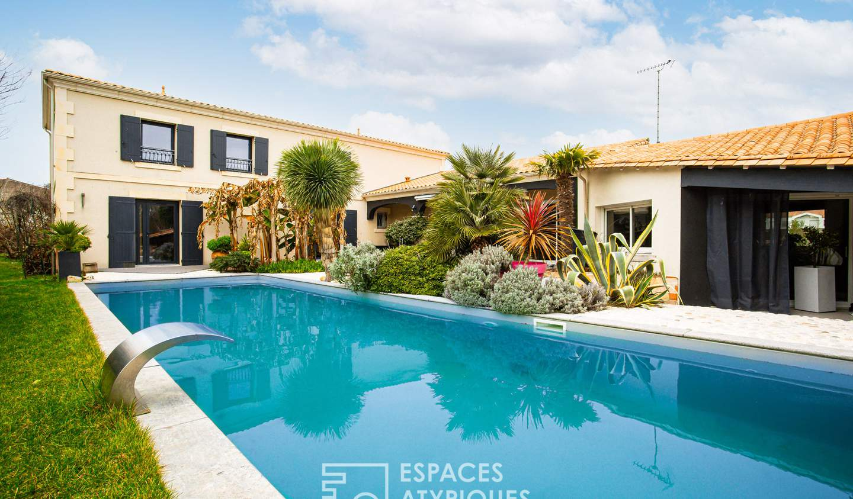 Maison avec piscine et terrasse Royan