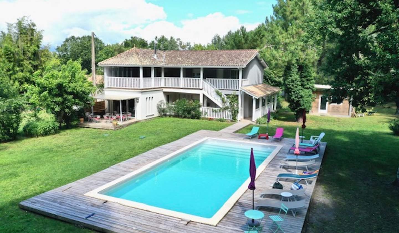 Maison avec piscine et terrasse Moulis-en-Médoc